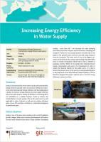 Increasing Energy Efficiency in Water Supply in Jordan