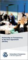 Flyer: Partnership on Transparency in the Paris Agreement