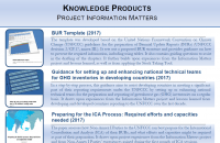 """Factsheet - Knowledge Products """"Information Matters"""""""